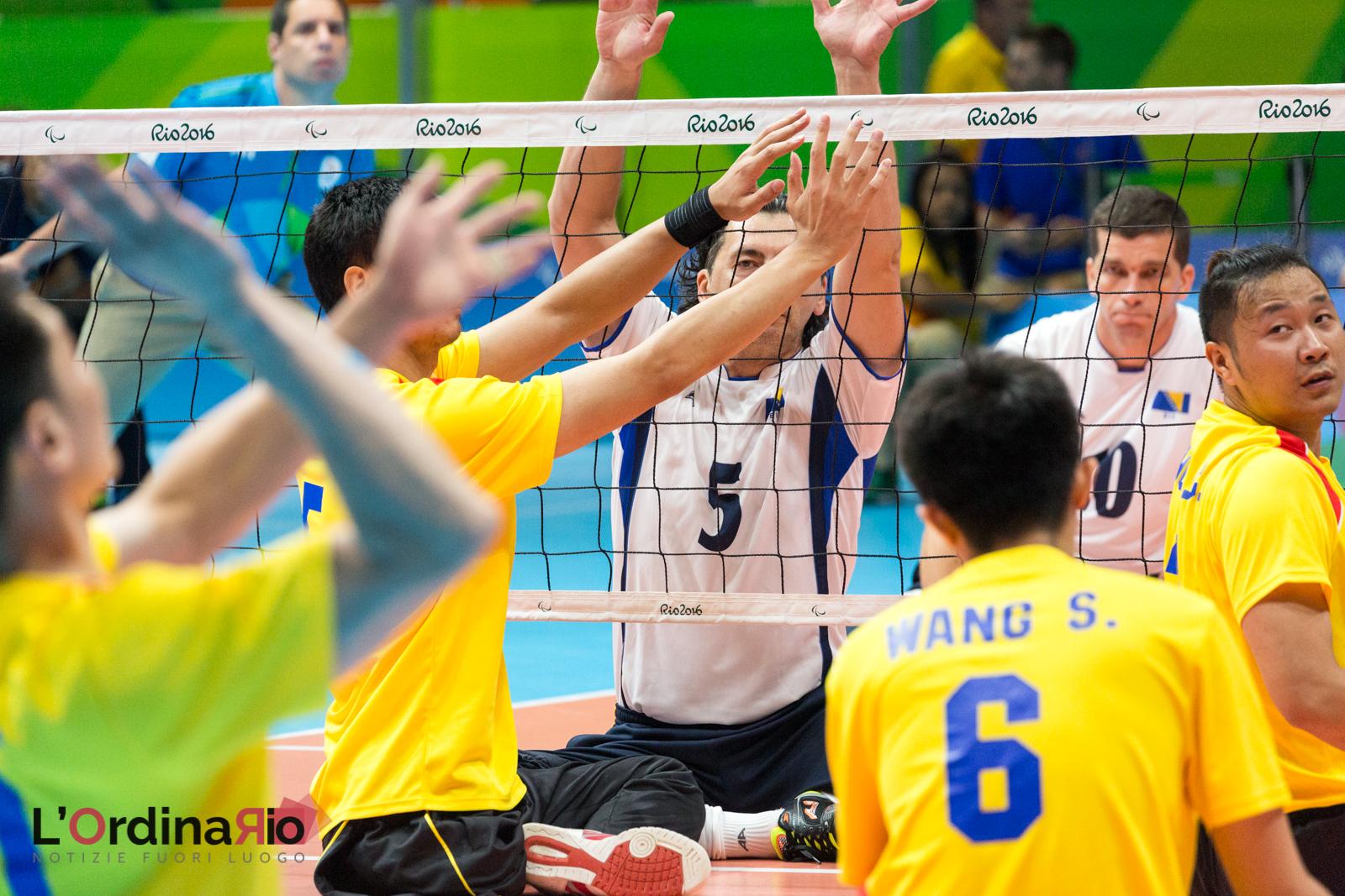 Pallavolo da seduti – Sitting volleyball