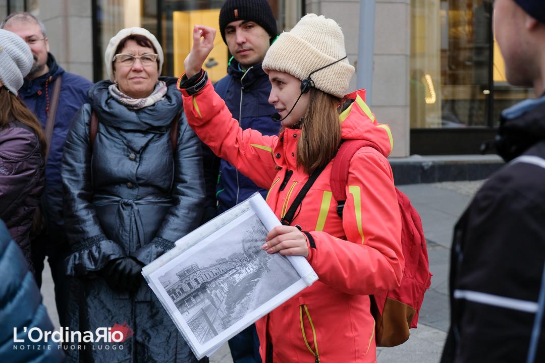 Una guida turistica attraverso il tempo, incontriamo Sveta a Mosca.