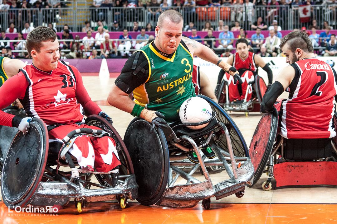 Rugby in carrozzina, quando lo scontro è parte del gioco