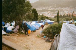 Vita all'interno del campo profughi di Samos