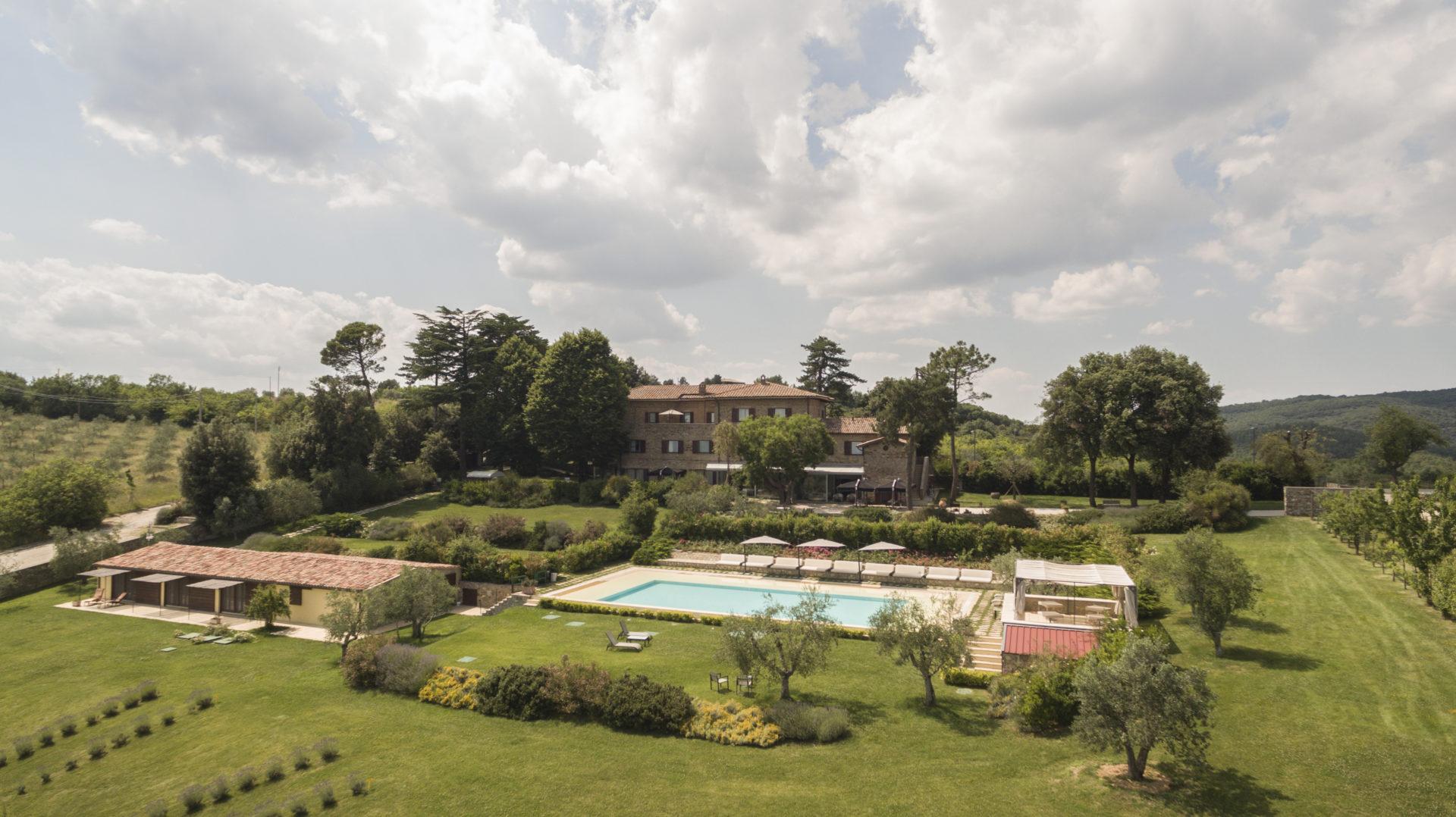 """A Orvieto, nella suggestiva Tenuta Ponziani, al via """"Il percorso dei sensi"""""""