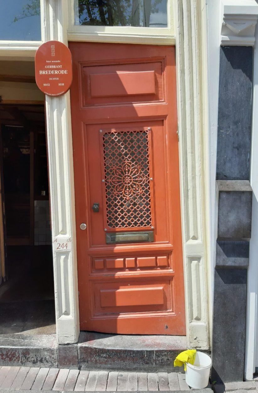 una porta di Amsterdam