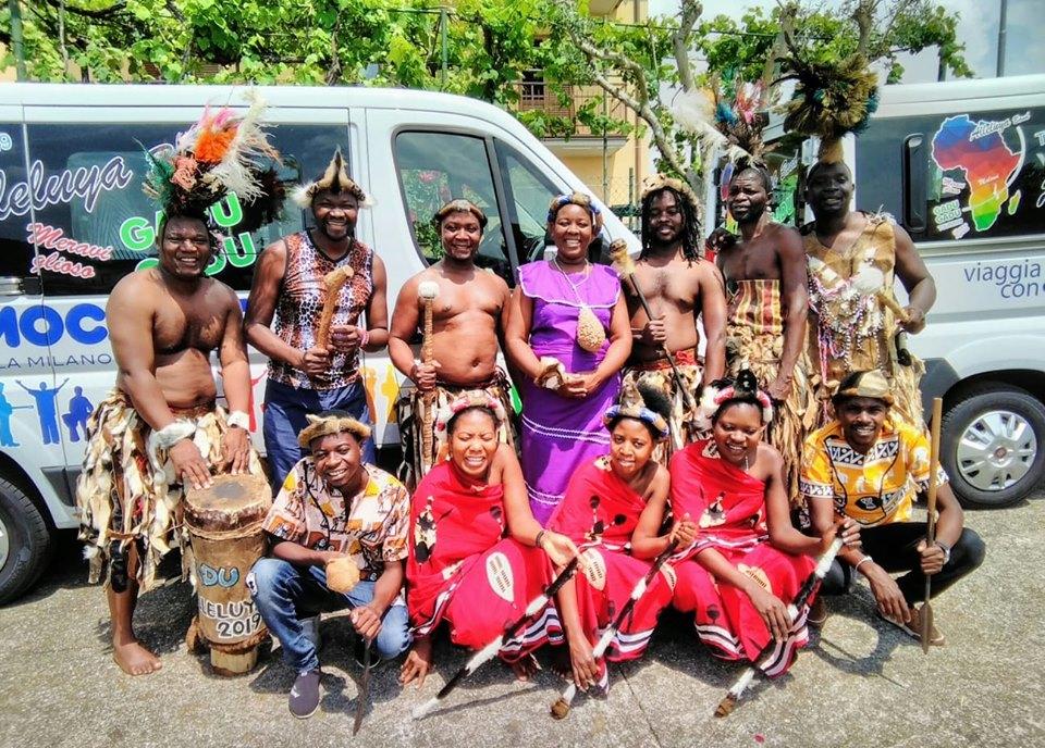 L'Ordinario con l'Alleluya Band ai ritmi del Malawi