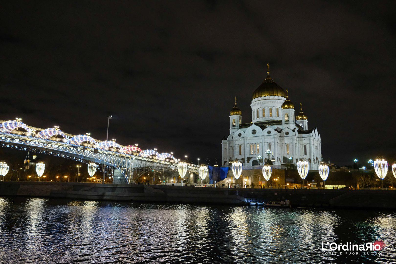 L'Ordinario dentro la notte magica del Natale Ortodosso, ve lo raccontiamo da Mosca