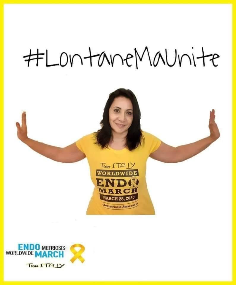 """Endometriosi, la Storia di Lorita e di una marcia contro la malattia che quest'anno si è """"corsa"""" sul web"""