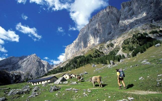 Val Ombretta, Dolomiti