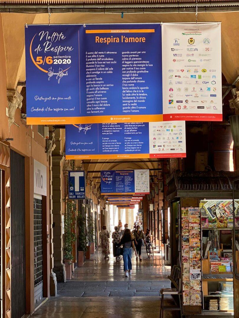 A Forlì torna la 'Not(t)e di Respiri: solidarietà, musica, spettacolo e scienza per le malattie polmonari