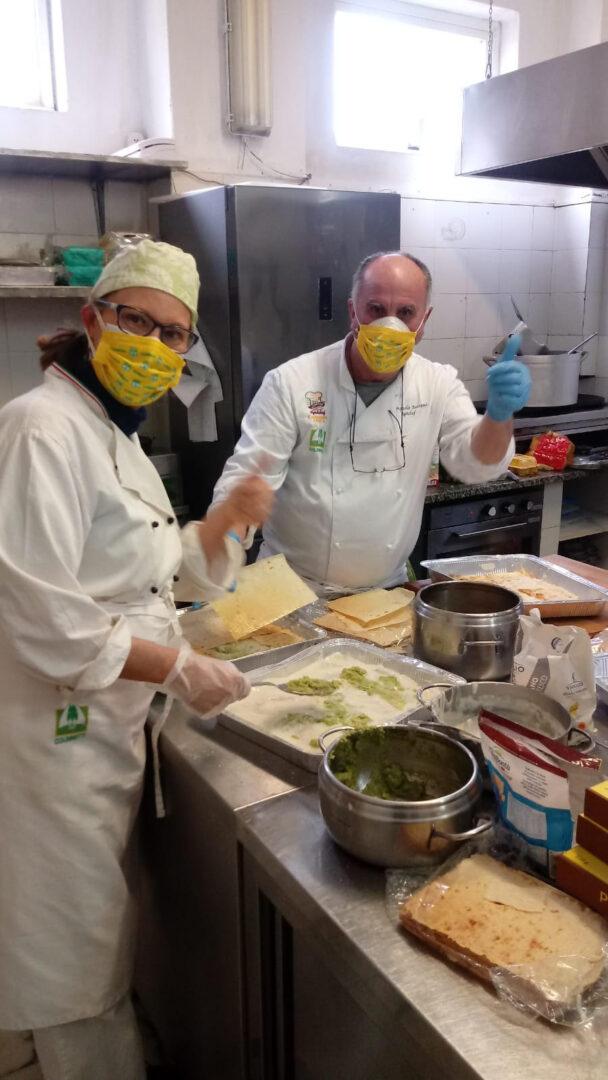 I cuochi contadini di Coldiretti La Spezia a supporto delle famiglie in difficoltà