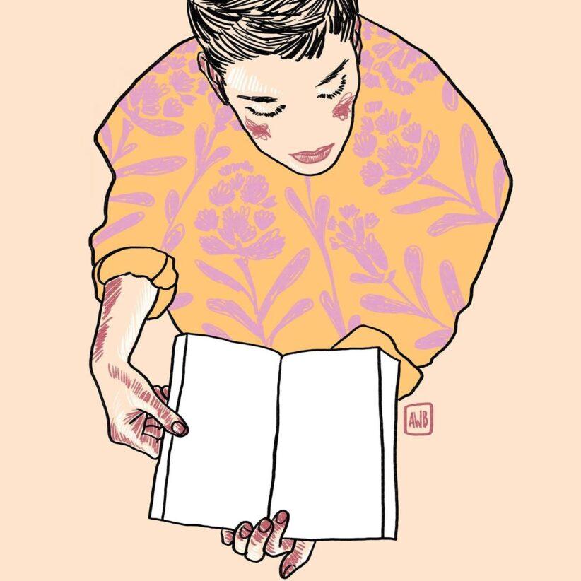 Poesia, illustrazione di Alice Walczer Baldinazzo