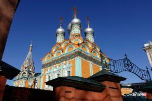 La chiesa ortodossa Khram Svyatitelya Grigoriya Neokesariyskogo V Debritsakh