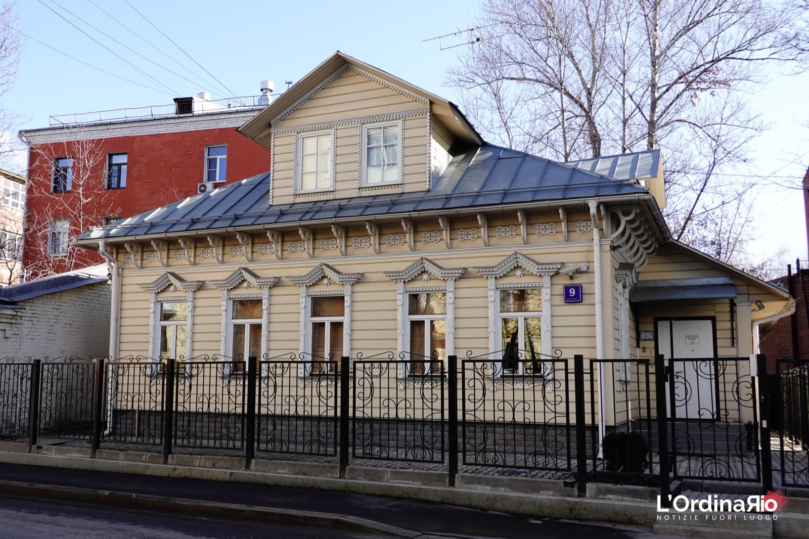 Casa tradizionale Russa