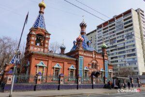 La chiesa Tikhvin Icona della Madre di Dio