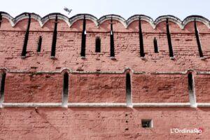 Muro di cinta del monastero Donskoy