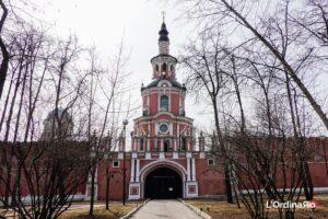 Entrata del monastero Donskoy
