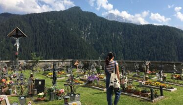 Giulia Depentor, l'esploratrice dei cimiteri