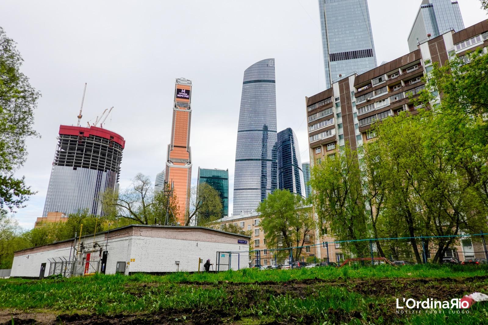 Trekking urbano a Mosca (6): Il quartiere della City di Mosca dalla metro Krasnopresnenskaja