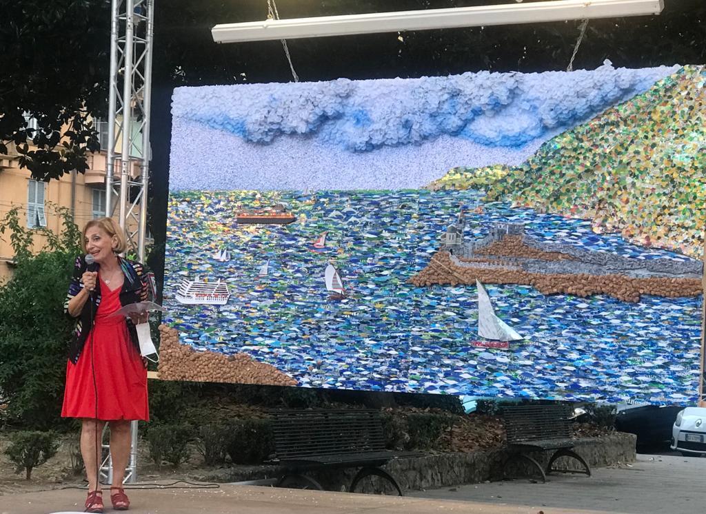 'Il Rifiuto non esiste', a Spezia un'opera d'arte realizzata da 8 detenuti racconta umanità e amore per l'ambiente