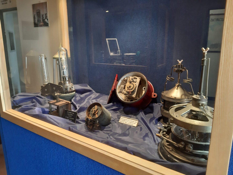 Una stanza del museo del faro