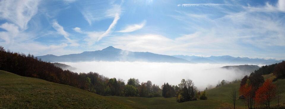 Monte Cimone visto dal modenese