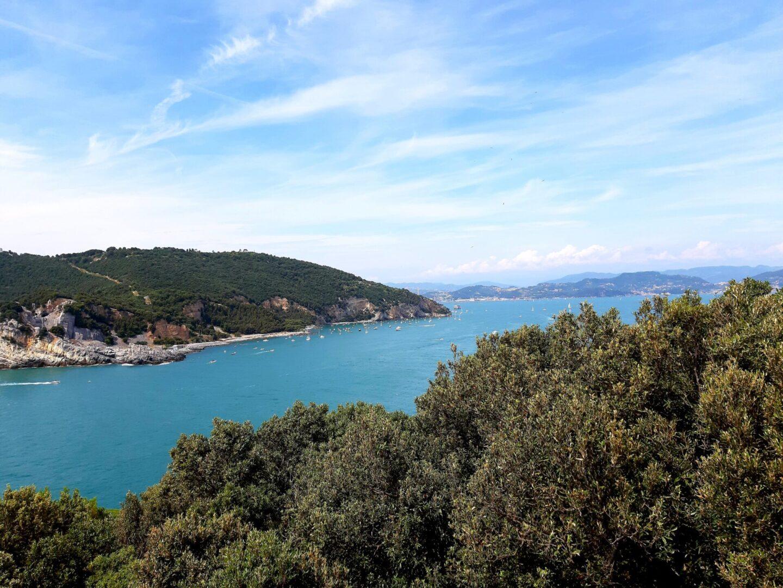 Visuale dall'Isola di Tino