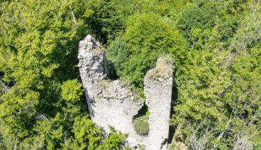 Castello Malaspina a Giovagallo (ph. aerea Comune di Tresana)